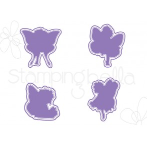 "TINY TOWNIE BUTTERFLY SET I WANT IT ALL ""CUT IT OUT"" DIES  (set of 4 DIES)- save 15%!"